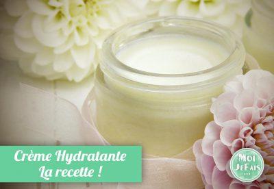 faire soi-même crème hydratante