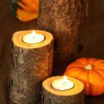 bougies bois