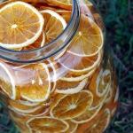 orange déshydratée