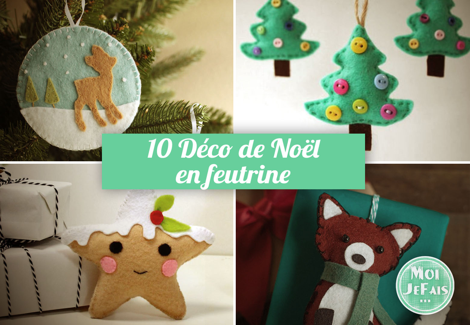 decoration noel feutrine