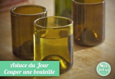 comment couper bouteille en verre