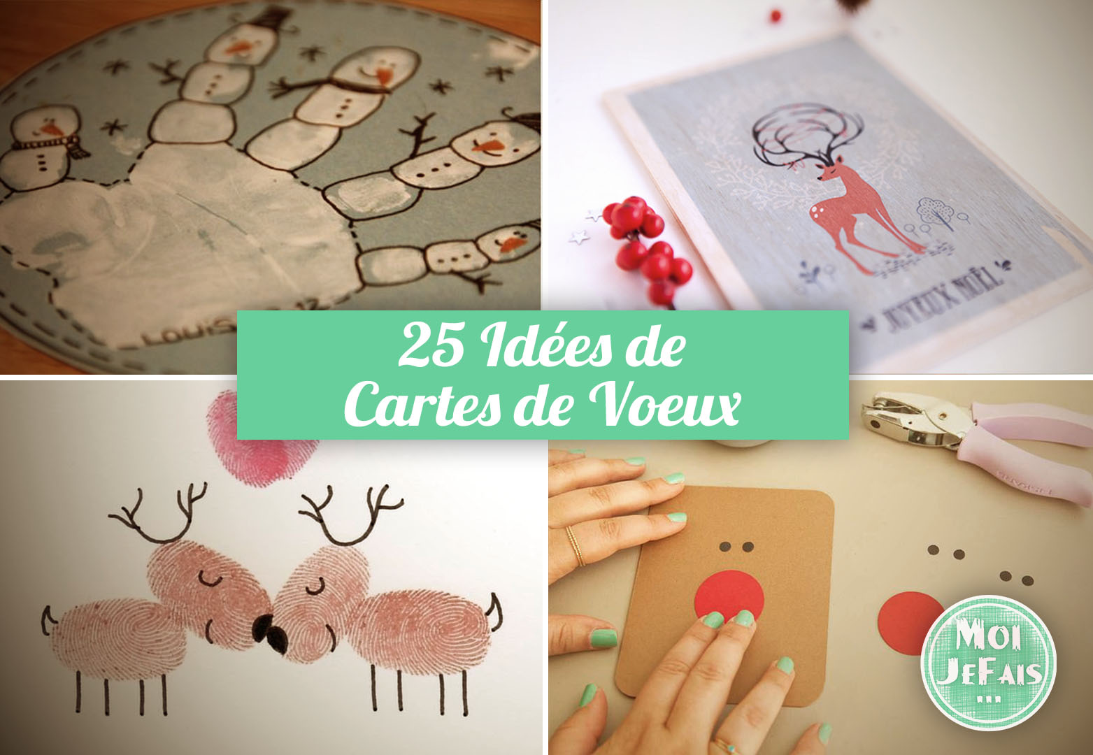 comment faire carte noel idee