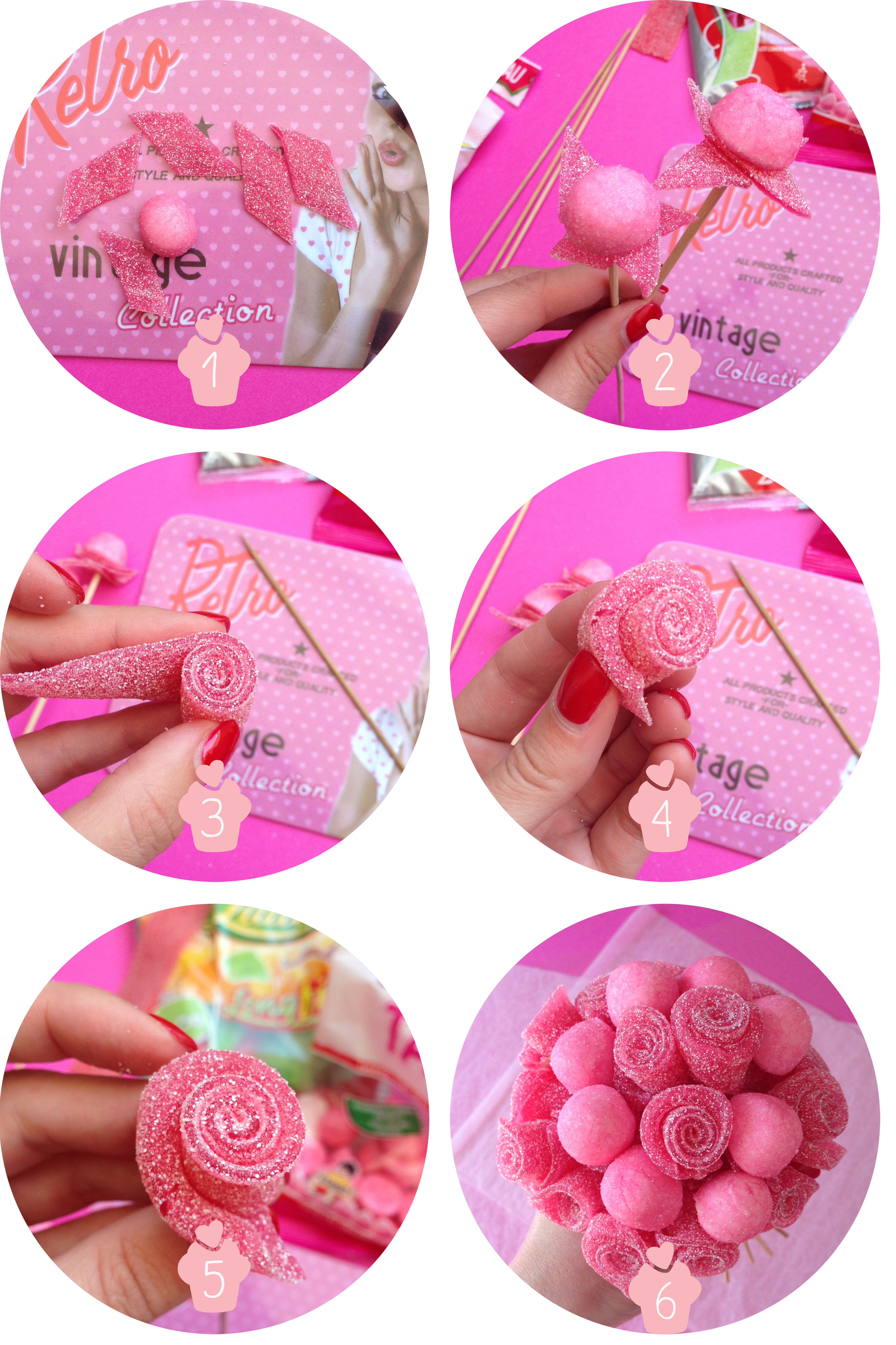 bouquet bonbons tutoriel