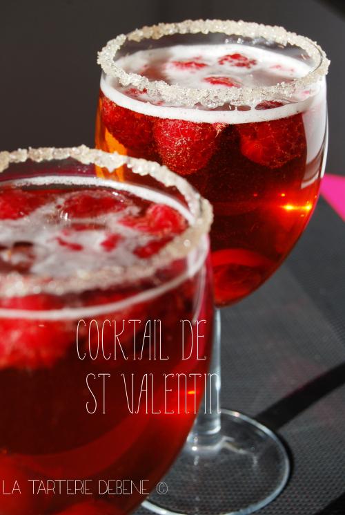 cocktail st valentin recette