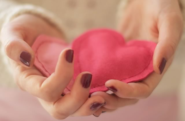 diy mini bouillotte coeur