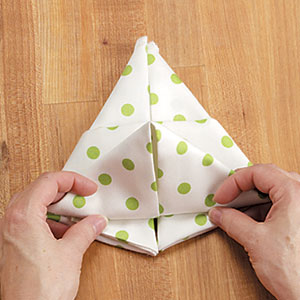 lapin en serviette