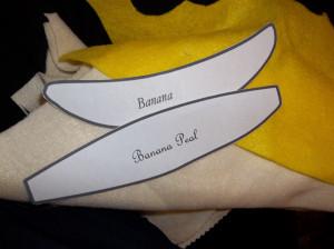 banane feutrine