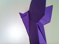 diy papillon origami