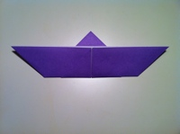 faire un papillon en origami