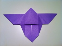 faire un papillon en papier