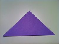 origami faire papillon