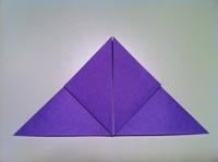 papier origami papillon