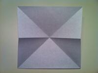 papillon en origami faire
