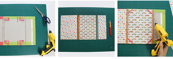 pochette tablette diy