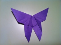 tutoriel papillon origami