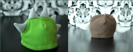 bonnet dinosaure chapeau viking