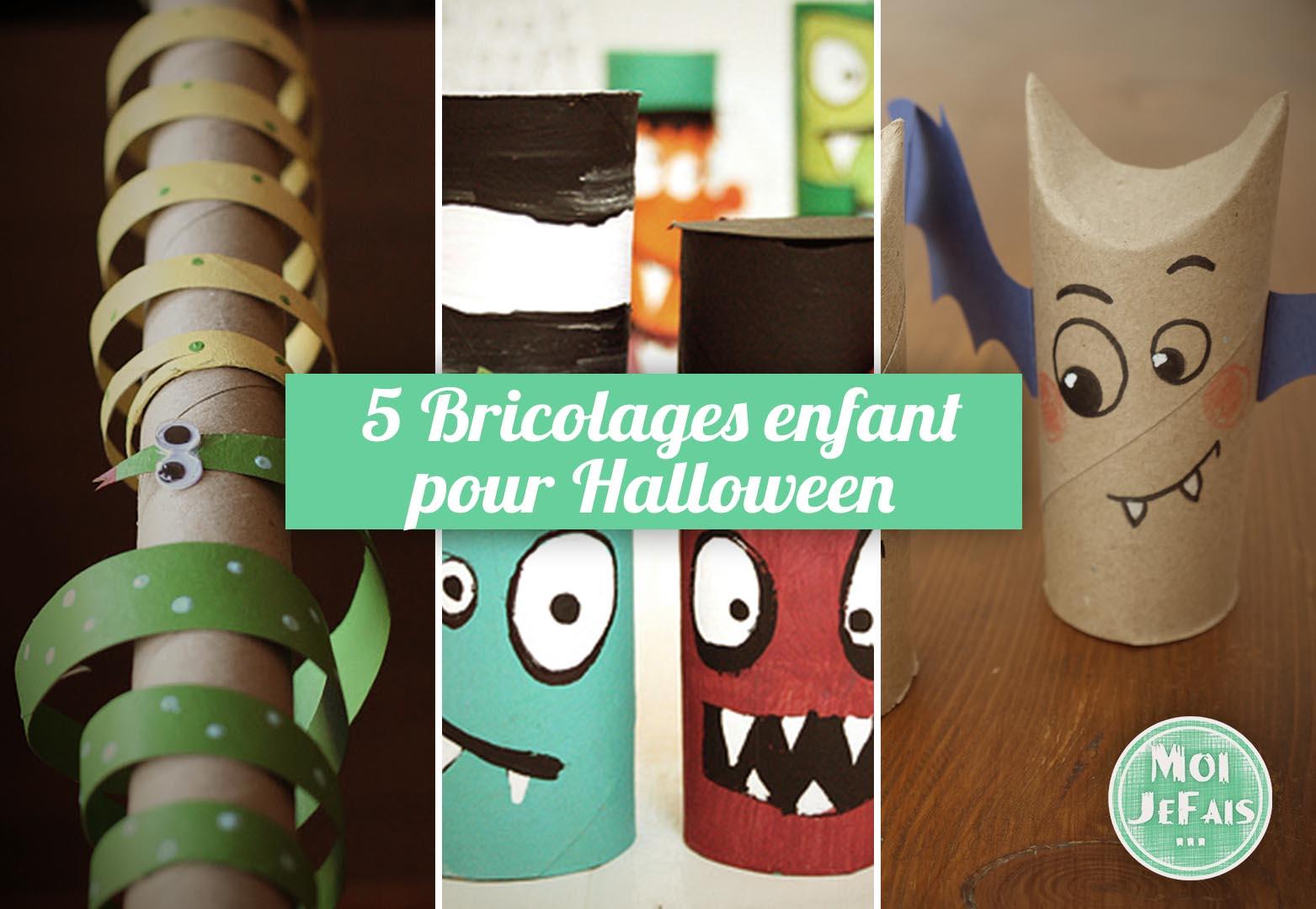 bricolage halloween rouleau papier toilette