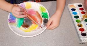 bricolage pour enfant assiette