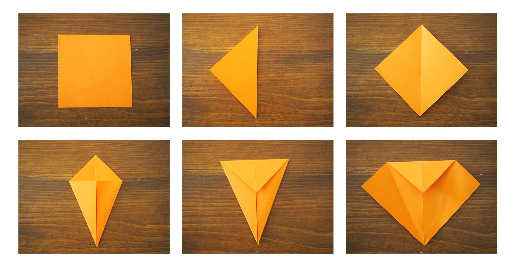 Diy Origami Fleur Facile Une Fleur En Origami Facile à Réaliser