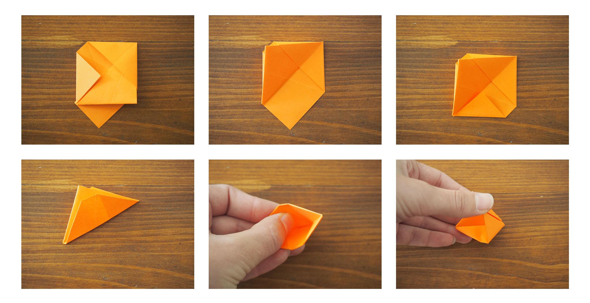 Diy Origami Fleur Facile Une Fleur En Origami Facile R Aliser