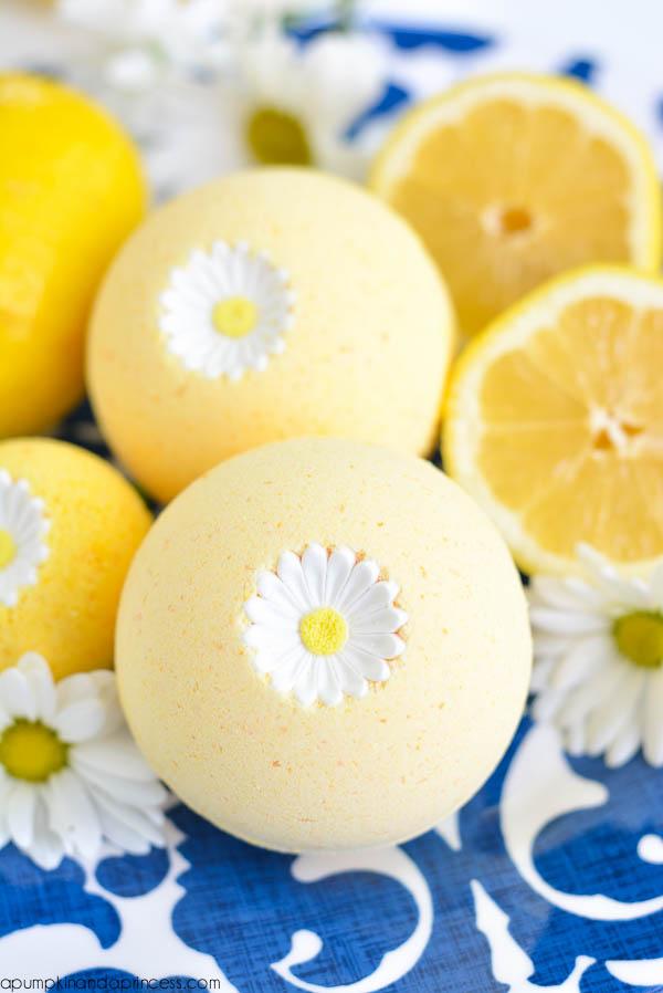 bombe de bain citron tutoriel