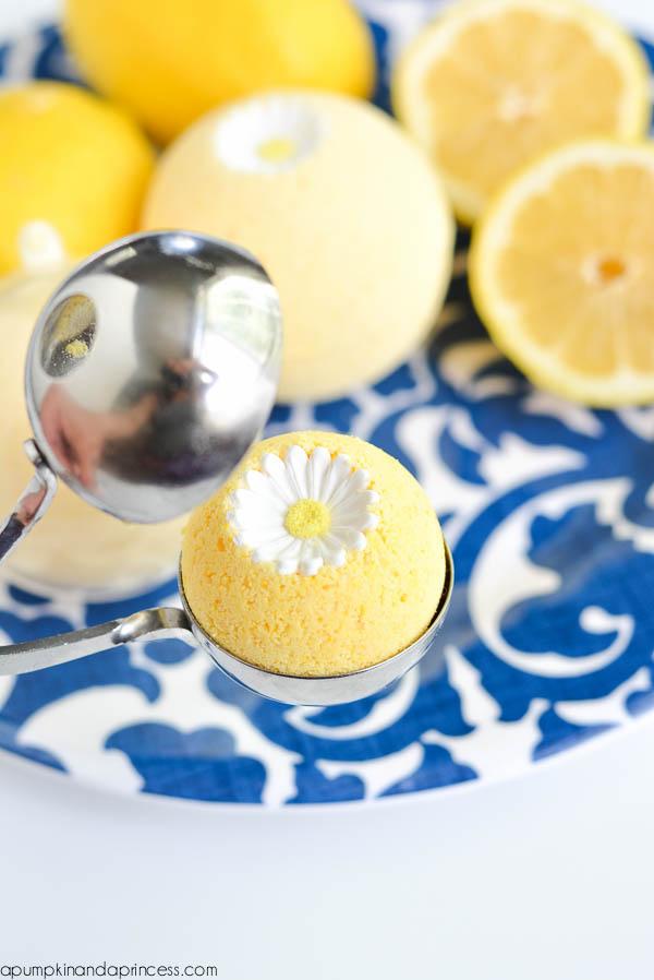 tuto bombe de bain citron