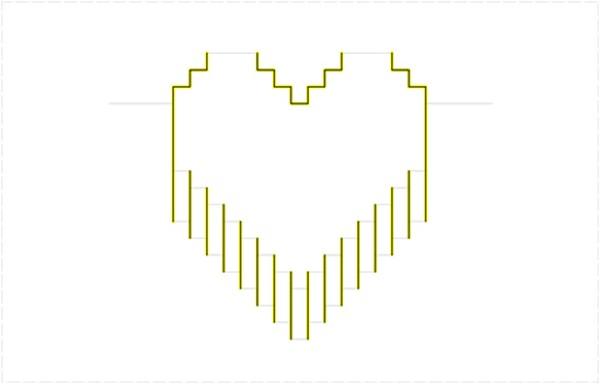 carte 3D st valentin diy