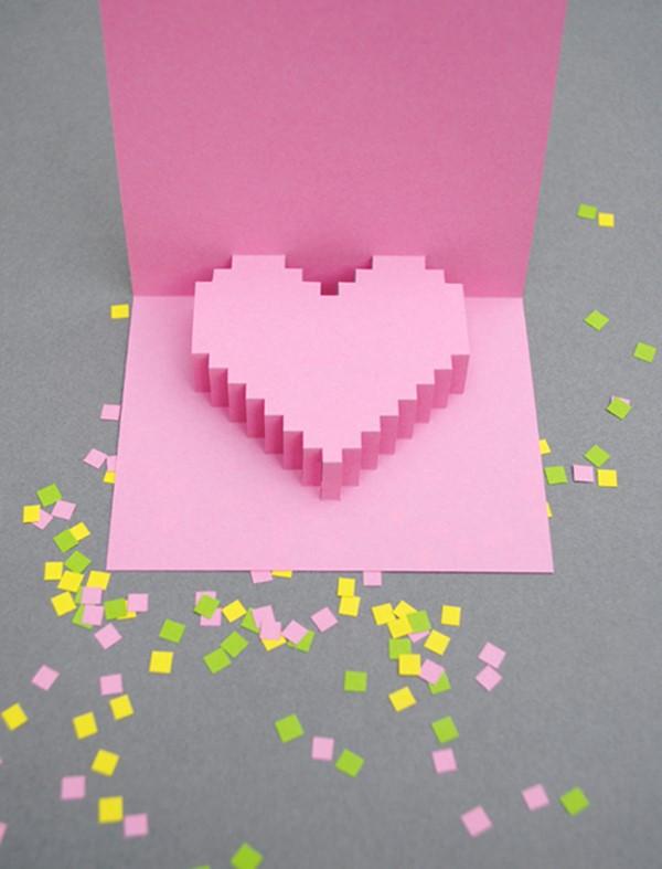 carte st valentin diy