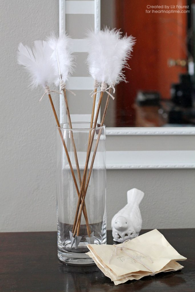 decoration saint valentin fleches diy