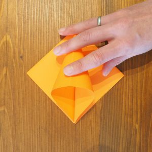 fleur origami diy