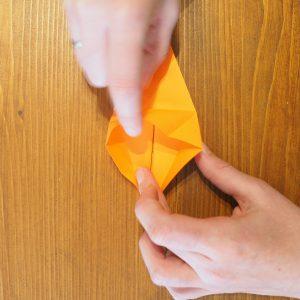 comment faire un lys en origami
