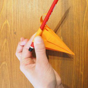 pétale fleur origami lys