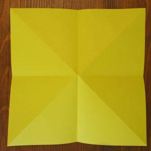 pliage fleur en papier