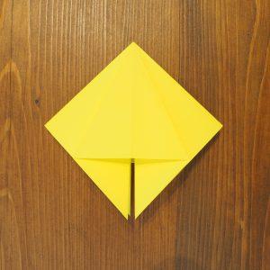 papier plié fleur lys