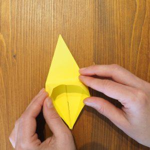 fleur de lys en origami facile