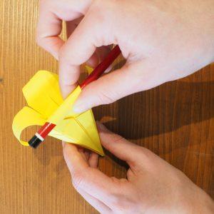 fleur de lys en papier origami