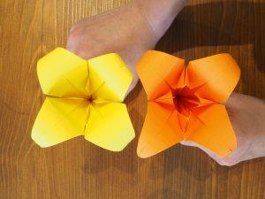 fleur en papier fleur de lys