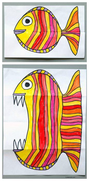 bricolage poisson d'avril