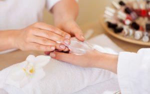 soin beauté main douce bicarbonate