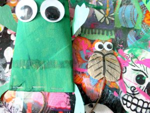 bricolage ludique rouleau papier toilette grenouille