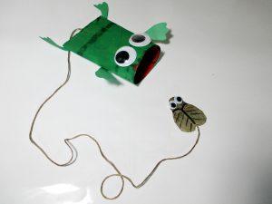 bricolage papier toilette grenouille