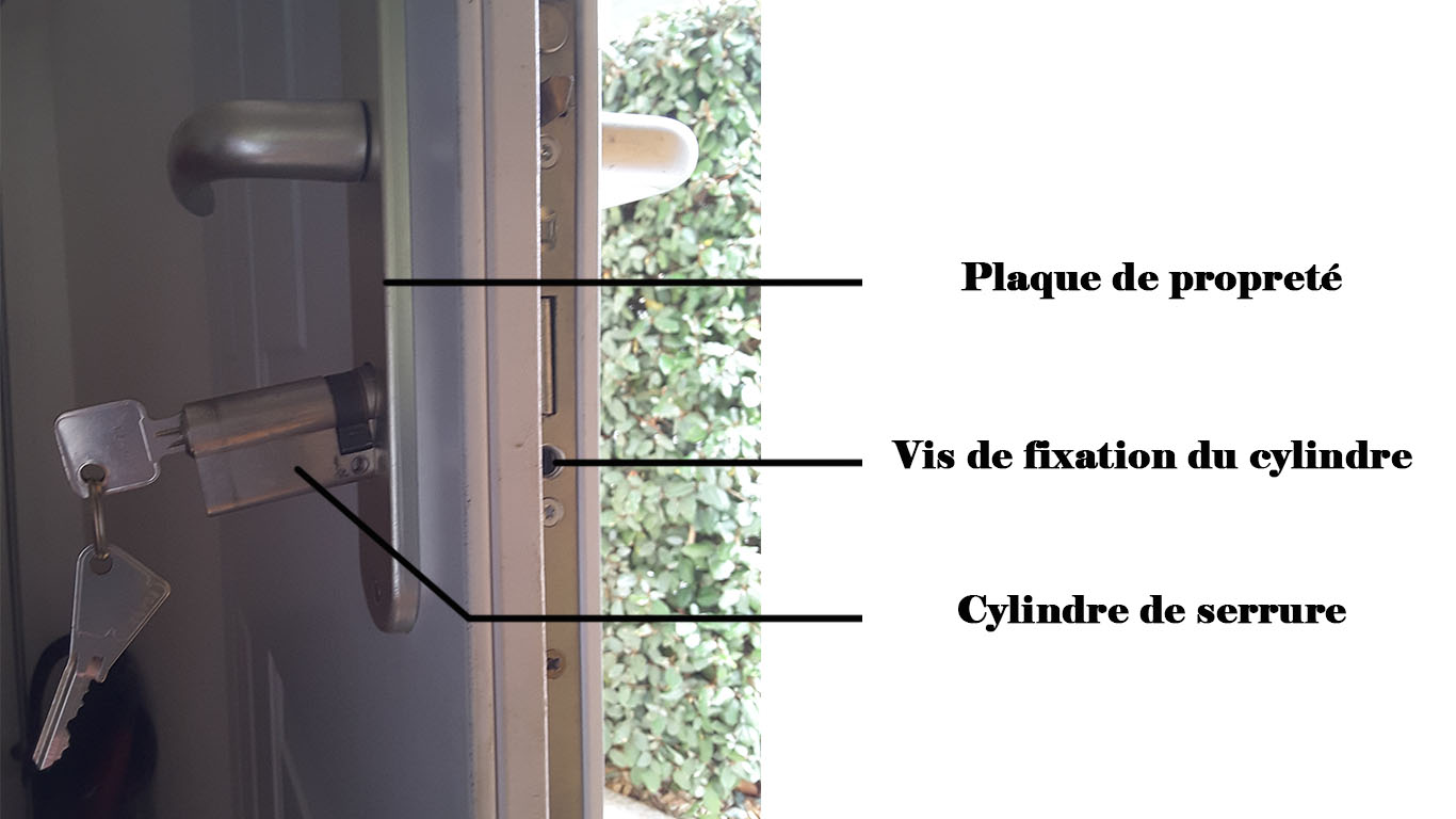 Installer chatire porte pvc free interesting prix maison - Comment installer une serrure de porte ...