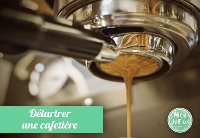 comment détartrer cafetière