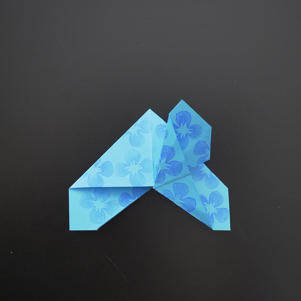 Diy Origami Facile Le Marque Page Papillon