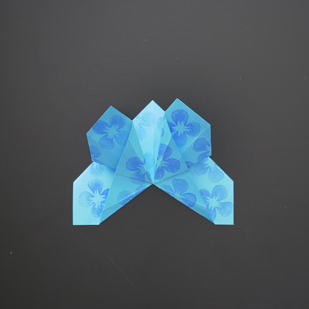 diy origami facile le marque page papillon. Black Bedroom Furniture Sets. Home Design Ideas