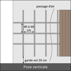 bardage vertical