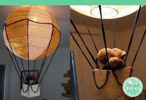 lampe enfant montgolfière