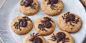 biscuit araignée halloween