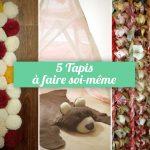comment faire un tapis soi-même