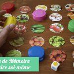 fair soi-même jeu de mémoire